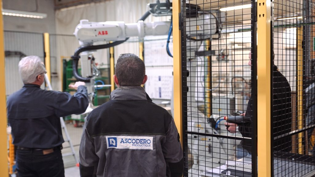 2.2 ASCODERO-photo_tournage1 Test Robot